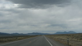 Alone. In roadtrip Royalty Free Stock Photography