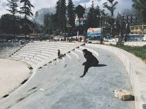 alone in Sapa Royalty Free Stock Photography