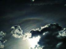 Alone scenico dell'arcobaleno fotografie stock