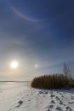 Alone solare Fotografia Stock Libera da Diritti