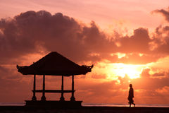Alone at Sunrise royalty free stock photography