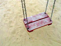 Alone Swing royalty free stock images
