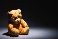 Alone teddy bear Royalty Free Stock Photos