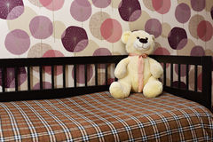 Alone teddy bear Stock Image