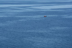 Alone on the Water Royalty Free Stock Images