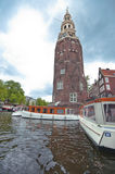 Along Amsterdam Channels Royalty Free Stock Photos