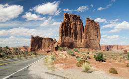 Along the Arches Highway Stock Images
