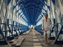 Along The Bridge Royalty Free Stock Photos