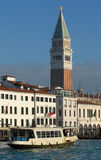 Along Canal Grande Stock Photos