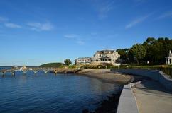 Along the coast Royalty Free Stock Photo