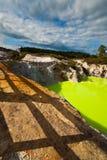 Along devils Bath - New Zealand Stock Images