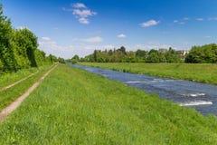 Along Dreisam River royalty free stock photos