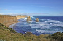 Along the Great Ocean Road, Victoria, Australia Royalty Free Stock Images