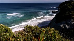 Along the Great Ocean Road stock video footage