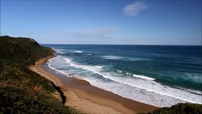 Along the Great Ocean Road stock footage