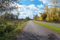 Along Greenway in Black Dog Preserve Stock Image