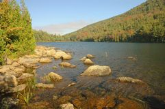 Along Jordan Pond, Acadia Royalty Free Stock Photo
