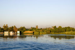 Along nile Stock Image
