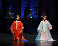 Along with the punishment-disillusionment-Modern drama Empresses in the Palace Stock Image