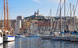 Along the quay, Marseille Stock Photography