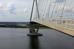 Along the Ravenel Bridge Royalty Free Stock Images