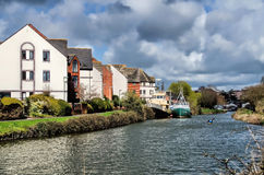 Along The River Exe Royalty Free Stock Photography