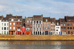 Along the river Meuse in Maastricht, Netherlands royalty free stock photo