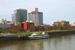 Along the river, Portland OR. Stock Photography