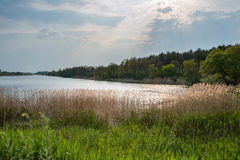 Along the river in Ukraine Stock Photography