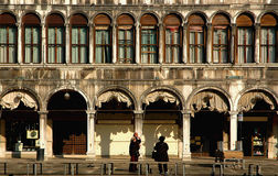Along San Marco, Venice Royalty Free Stock Photos