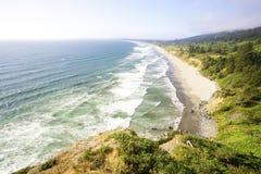 Along the shores of California in summer Stock Photo