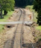 Along the Tracks Stock Image