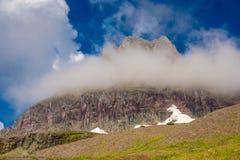Along the Trail Glacier National Park Stock Photo