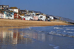 Along The Waterfront ~ Lyme Regis Royalty Free Stock Image
