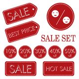 Hot sale set Royalty Free Stock Photo