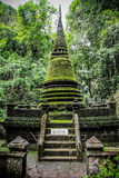 Alongkorn Pagoda at Phliew Waterfall. In Chanthaburi province, Thailand Royalty Free Stock Photography