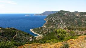 Alonisos, Grecia Fotografie Stock Libere da Diritti