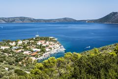 Alonissos Steni Vala Bay Royalty Free Stock Photos