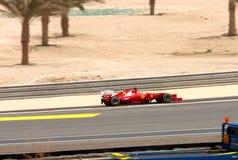 Alonso di Ferrari che corre il 20 aprile 2012 Immagine Stock Libera da Diritti