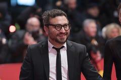 Alonso Ruizpalacios κατά τη διάρκεια Berlinale 2018 στοκ φωτογραφία