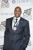 Alonzo Mourning. An NBA Hall of Famer, 7-time All-Star and 2007 NBA Champion, arrives for the 32nd Annual Great Sports Legends Dinner presented by Tudor Group Stock Images
