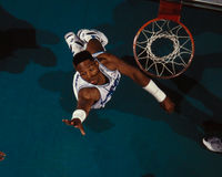 Alonzo Mourning Charlotte Hornets Royalty Free Stock Photography