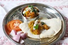 Aloo del curry della patata Fotografia Stock