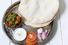 Aloo del curry della patata Immagine Stock