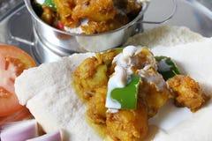 Aloo del curry della patata Immagini Stock Libere da Diritti