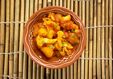 Aloo gobi Royalty Free Stock Image