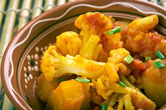 Aloo gobi Royalty Free Stock Photo