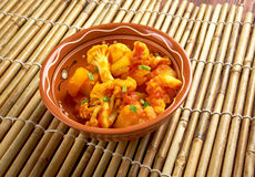 Aloo gobi Royalty Free Stock Photos
