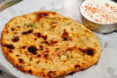 Aloo stuffed Parathas Royalty Free Stock Image