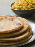 Aloo stuffed Parathas Stock Images